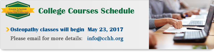 cchh calss schedule 2017 april